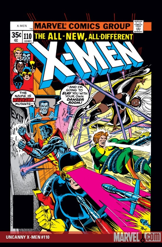 UNCANNY X-MEN #110