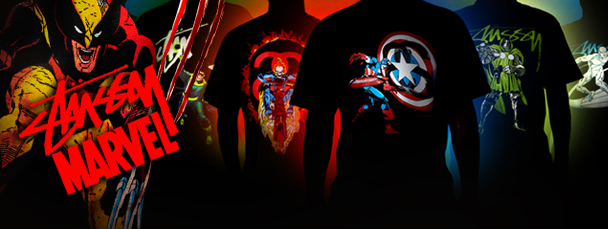 The Stussy x Marvel Project- Series One Revealed