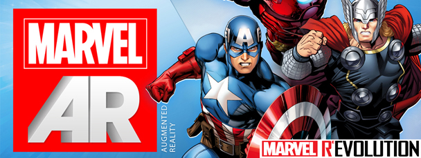 Marvel AR Joins the ReEvolution
