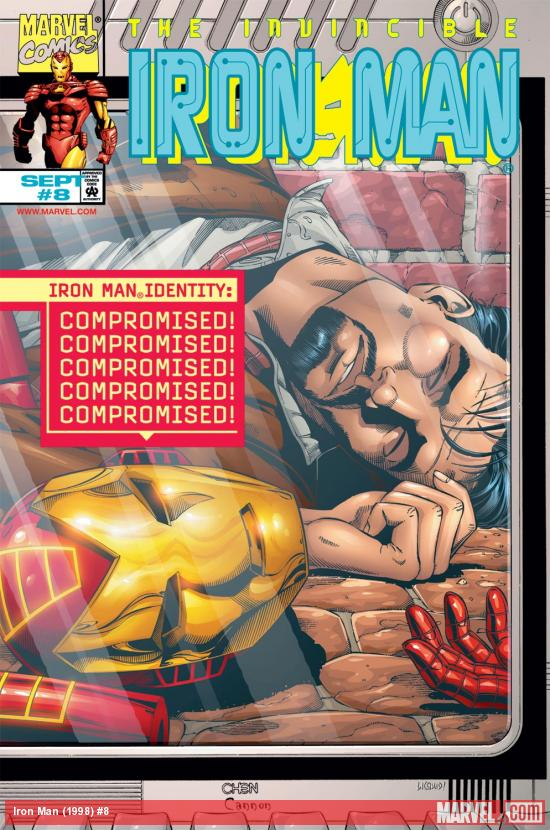 Iron Man (1998) #8 Cover
