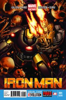 Iron Man (2012) #4 (2nd Printing Variant)