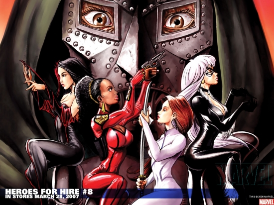 Heroes for Hire (2006) #8 Wallpaper