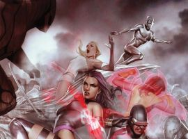 Image Featuring X-Men, Sub-Mariner, Cyclops, Emma Frost, Iceman