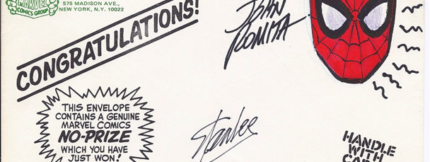 Own a Stan Lee/John Romita-Signed No-Prize