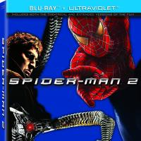 Spider-Man 2 Blu-ray box art