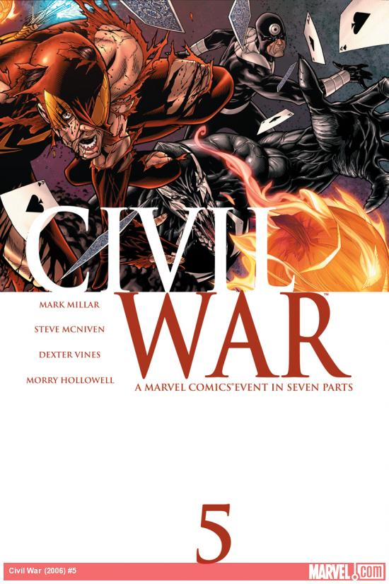 Cover: Civil War (2006) #5