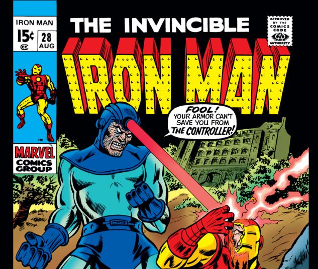 Iron Man (1968) #28 Cover