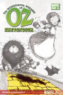 Wizard of Oz Sketchbook #1