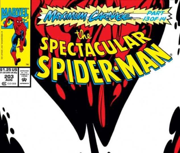 Peter Parker, The Spectacular Spider-Man #203