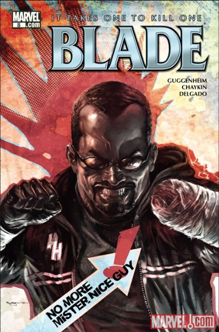 BLADE #8 cover by Marko Djurdjevic