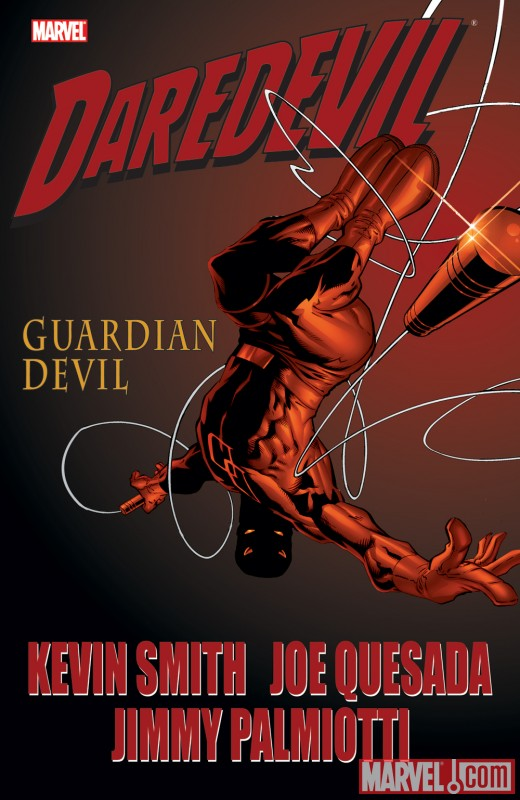 DAREDEVIL: GUARDIAN DEVIL cover by Joe Quesada