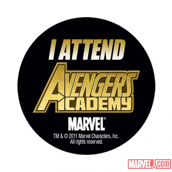 C2E2 exclusive Avengers Academy button