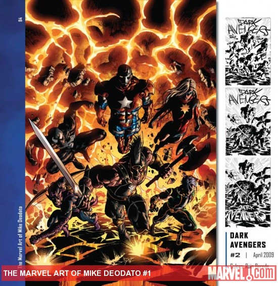 The Marvel Art of Mike Deodato preview art by Mike Deodato