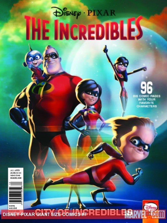 DISNEY*PIXAR PRESENTS: INCREDIBLES - CITY OF INCREDIBLES