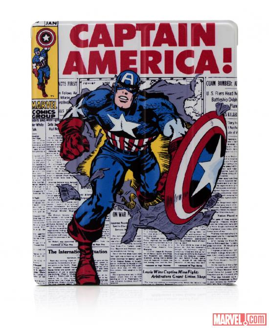 Captain America folio iPad case by PDP