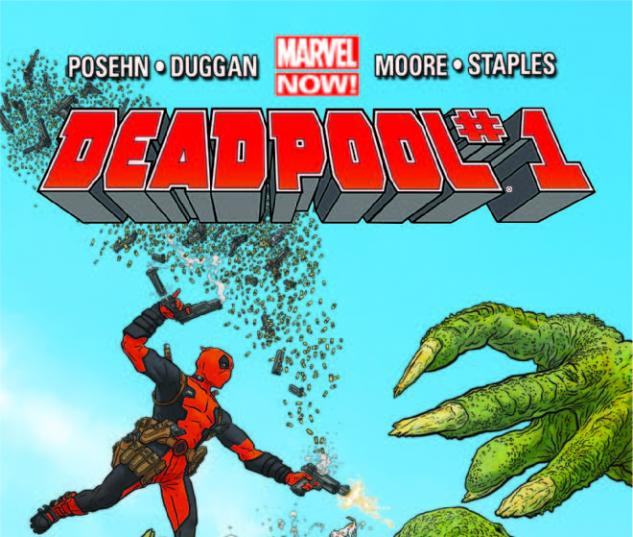 DEADPOOL 1 3RD PRINTING VARIANT (NOW)