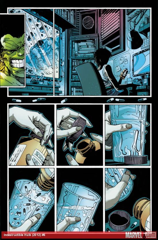 Indestructible Hulk #6 preview art by Walt Simonson