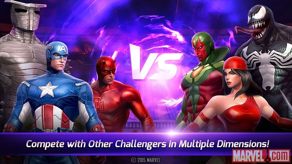 Games based on Marvel heroes like Marvel Future Fight are super-popular with mobile users worldwide. (Image: Marvel Entertainment)