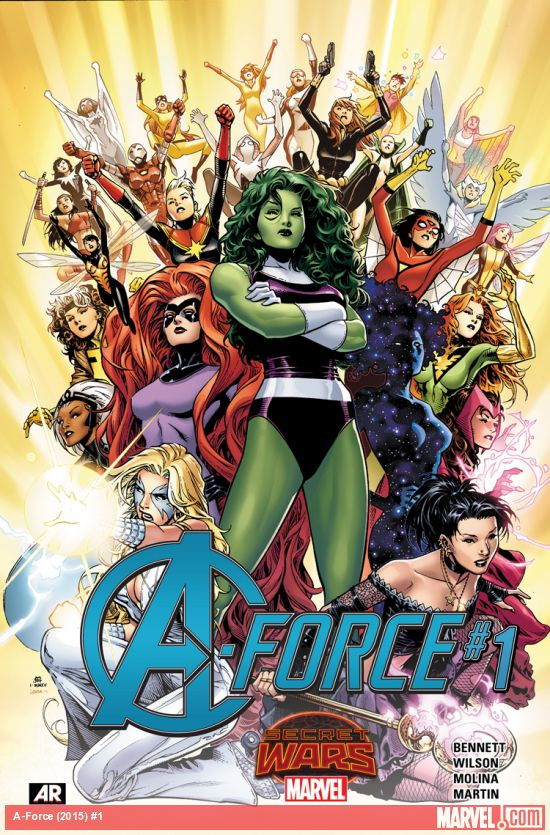 Secret Wars A-Force Tome 01 French