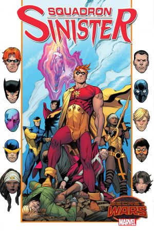 Secret Wars Squadron Sinister Tome 04 French